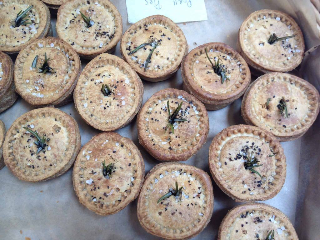 Rosemary pork pies